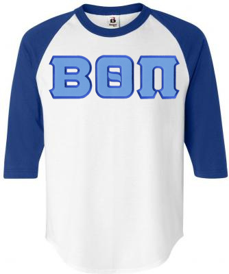 DISCOUNT- Beta Theta Pi Lettered Raglan T-Shirt