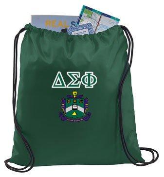 Delta Sigma Phi Crest - Shield Cinch Sack