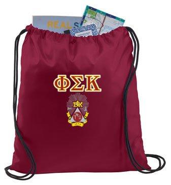 Phi Sigma Kappa Crest - Shield Cinch Sack
