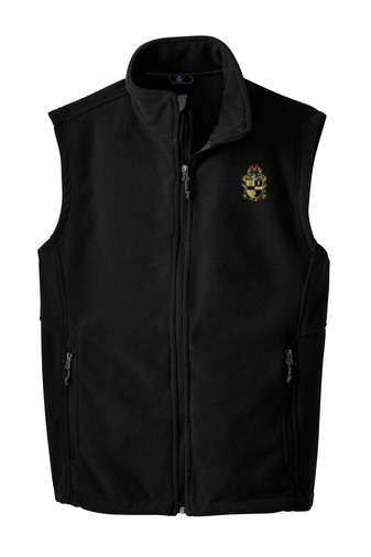 Alpha Phi Alpha Fleece Crest - Shield Vest