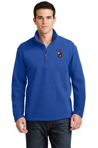 DISCOUNT-Beta Theta Pi Emblem 1/4 Zip Pullover