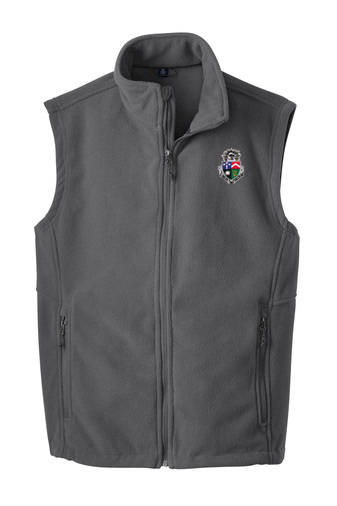 Delta Tau Delta Fleece Crest - Shield Vest