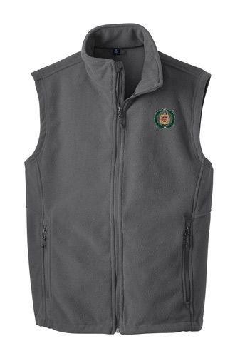 Omega Psi Phi Fleece Crest - Shield Vest