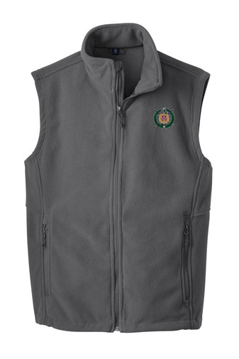 Omega Psi Phi Fleece Crest - Shield Vest