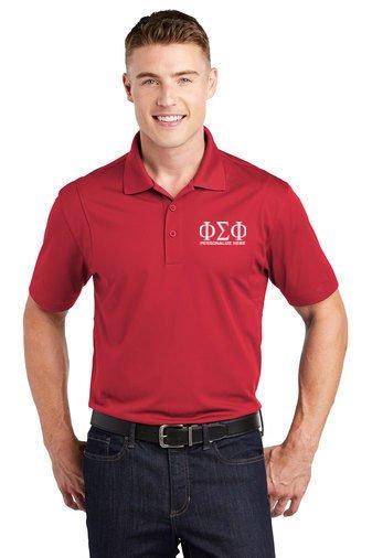 Phi Sigma Phi Sports Polo