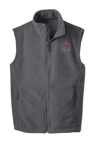 Sigma Alpha Epsilon Fleece Crest - Shield Vest