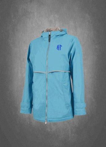 Delta Gamma Monogrammed Rain Coat