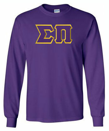 DISCOUNT Sigma Pi Lettered Long sleeve