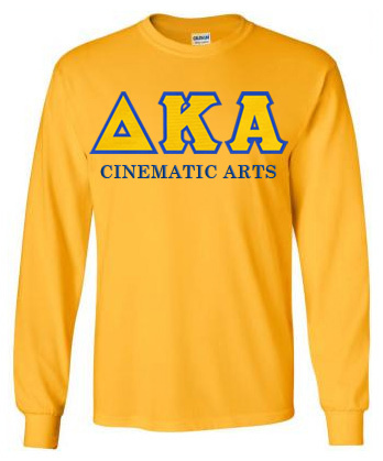$25 Delta Kappa Alpha Custom Twill Long Sleeve T-Shirt