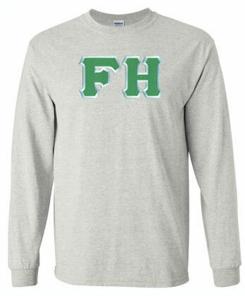 DISCOUNT FarmHouse Fraternity Lettered Long Sleeve Tee