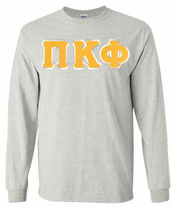 DISCOUNT Pi Kappa Phi Lettered Long sleeve