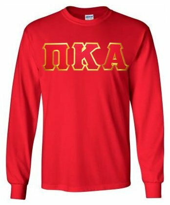 Pi Kappa Alpha Lettered Long Sleeve Shirt