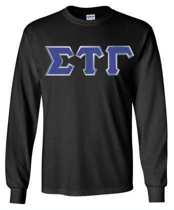 Sigma Tau Gamma Lettered Long Sleeve Shirt