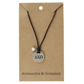 Alloy Sorority Necklace - closeout