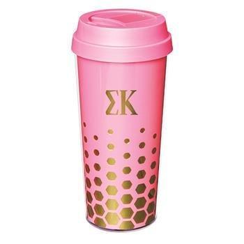 Sigma Kappa Sparkle Coffee Tumblers