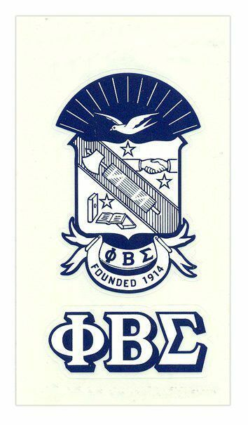 Phi Beta Sigma Crest - Shield Decal