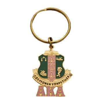 AKA Shield Key Chain
