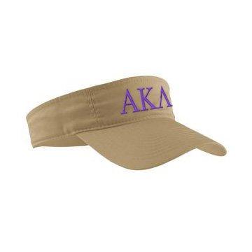 Alpha Kappa Lambda Greek Letter Visor