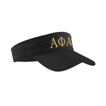 Alpha Phi Alpha Greek Letter Visor