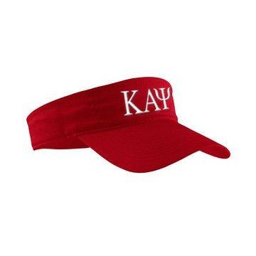 Kappa Alpha Psi Greek Letter Visor