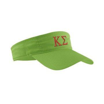 Kappa Sigma Greek Letter Visor