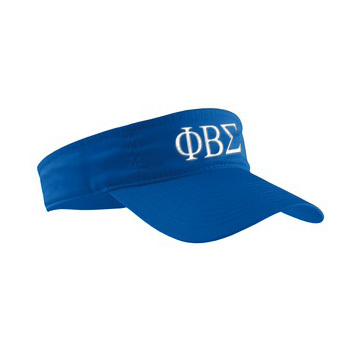 Phi Beta Sigma Greek Letter Visor