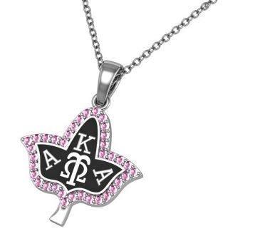 Alpha Kappa Alpha Ivy Leaf Necklace