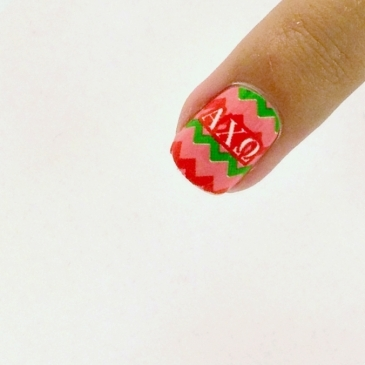 Alpha Chi Omega Nail Strips