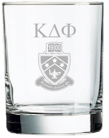 Kappa Delta Phi Rocks Glass