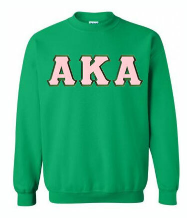 DISCOUNT AKA Lettered Crewneck - MADE FAST!