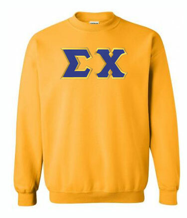 DISCOUNT Sigma Chi Lettered Crewneck