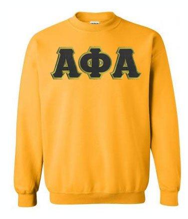 Alpha Phi Alpha Lettered Crewneck Sweatshirt