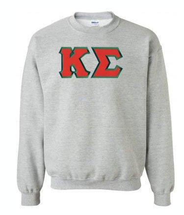 DISCOUNT Kappa Sigma Lettered Crewneck
