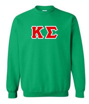 Fraternity Hand Sewn Lettered Crewneck Sweatshirt