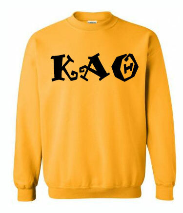 Peppermint Greek Crewneck Sweatshirt