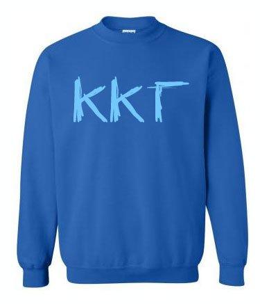 Scribbled Greek Crewneck Sweatshirt