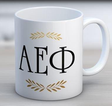 Alpha Epsilon Phi Letter Coffee Mug