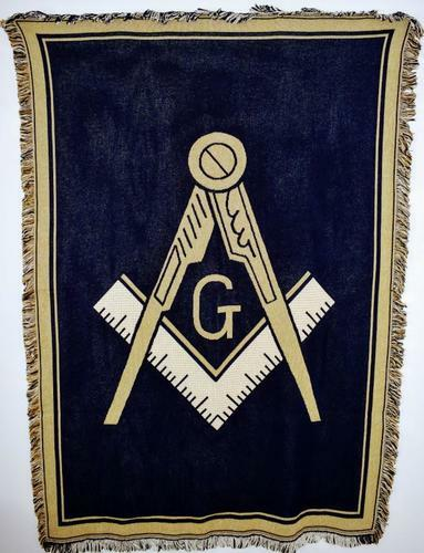 Mason / Freemason Afghans, Blankets & Throws