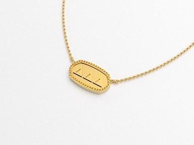 Delta Delta Delta Athena Necklace