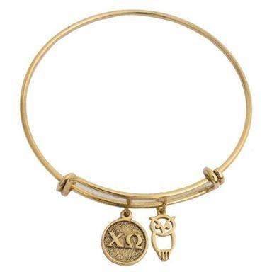 Chi Omega Expandable Bracelet