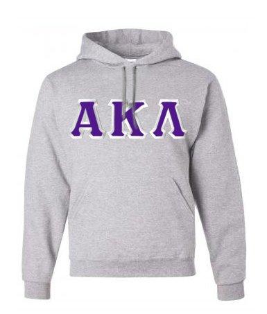 $30 Alpha Kappa Lambda Custom Twill Hooded Sweatshirt