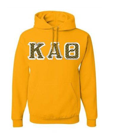 $39.99 Custom Satin Stitch Hooded Sweatshirt