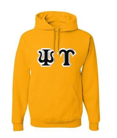 $30 Psi Upsilon Custom Twill Hooded Sweatshirt