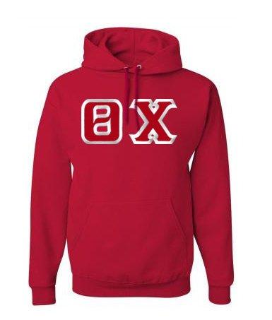$39.99 Theta Chi Custom Twill Hooded Sweatshirt