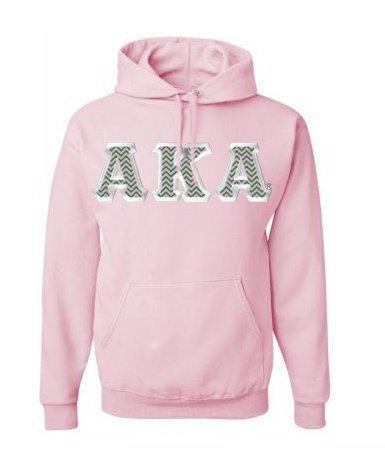 Alpha Kappa Alpha Custom Twill Hooded Sweatshirt