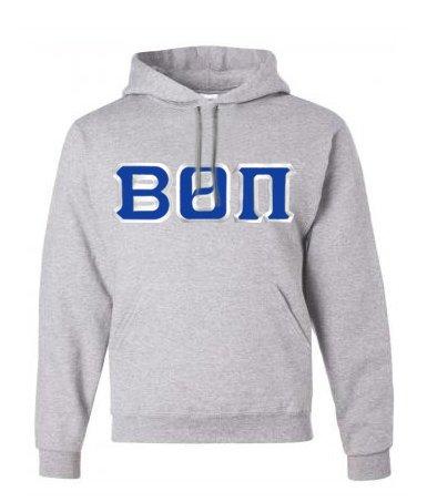 Beta Theta Pi Custom Twill Hooded Sweatshirt