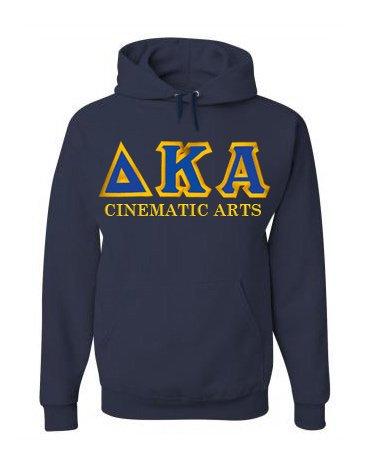 $45 Delta Kappa Alpha Custom Twill Hooded Sweatshirt