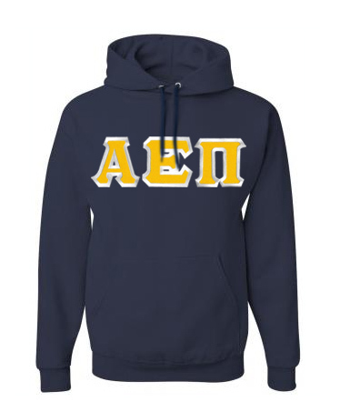 Alpha Epsilon Pi Custom Twill Hooded Sweatshirt