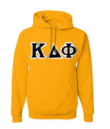 Kappa Delta Phi Custom Twill Hooded Sweatshirt