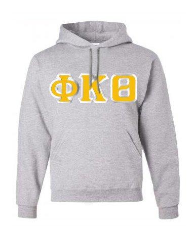 Phi Kappa Theta Custom Twill Hooded Sweatshirt